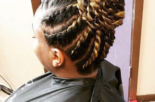 40 Chic Twist Frisuren für natürliches Haar