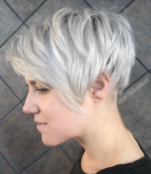 Pixie Haarschnitte mit Pony - 50 Terrific Tapers