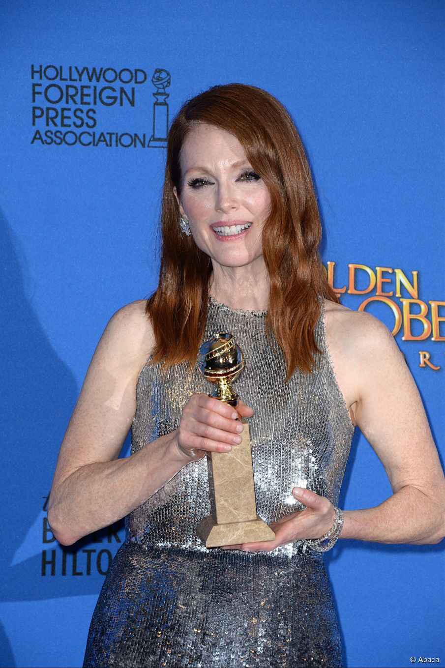 Julianne Moore bei den Golden Globes Neu: Haar Tutorial