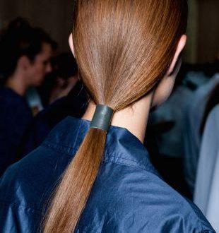 Pferdeschwanz Frisuren: glatt vs verdreht