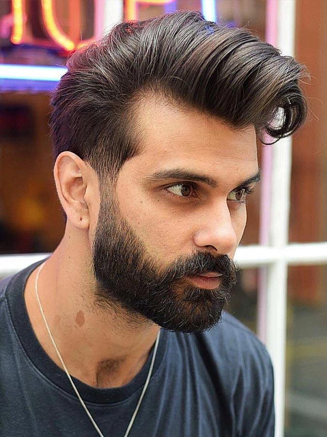 16 attraktivsten Männer Frisuren mit Bärte