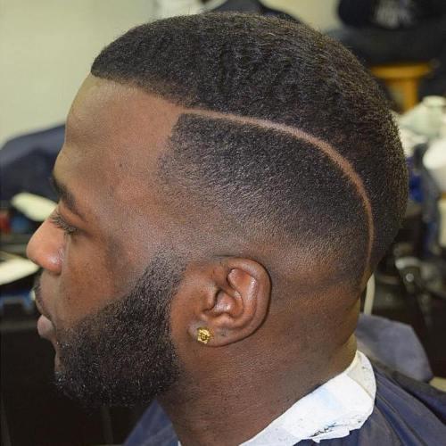 50 stilvolle Fade Haarschnitte für schwarze Männer