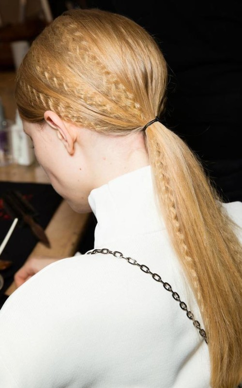7 Fashion Week Pferdeschwanz Frisuren für Neu