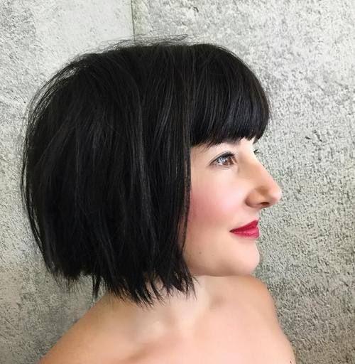 7 Chic Short Bob Haarschnitte für schwarzes Haar