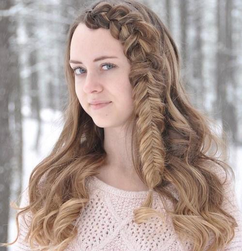 39 mutige und schöne geflochtene Bang Frisuren