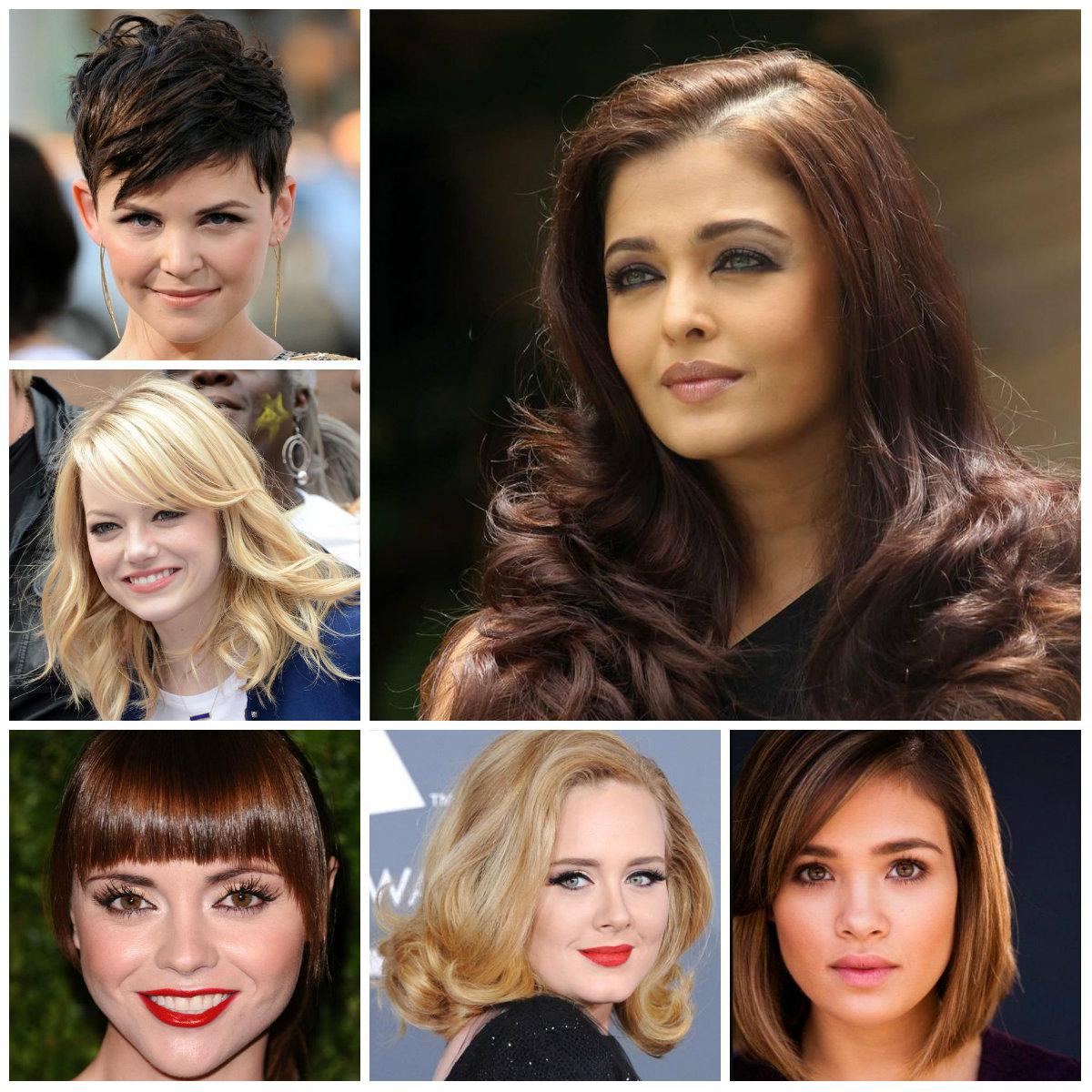 Trendige Frisuren für runde Gesichter Neu
