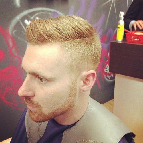 Kamm über Frisuren für Männer Beste Frisur