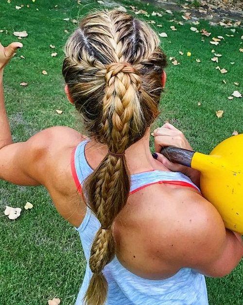 Get Beschäftigt: 40 Sportliche Frisuren für Workout