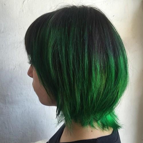 20 Dip Dye Hair Ideen - Freude für alle!