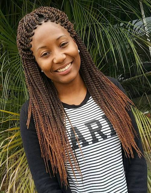 Senegalese Twists – 60 Ways to Turn Heads Quickly
