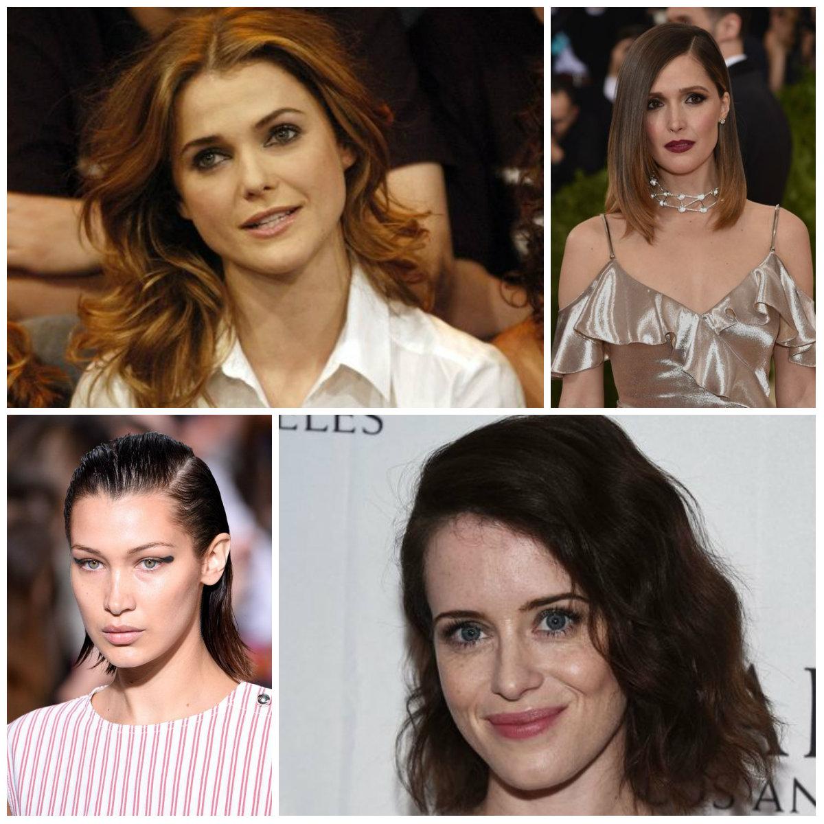 Nette mittellange Haarschnitte zum Stehlen von Prominenten