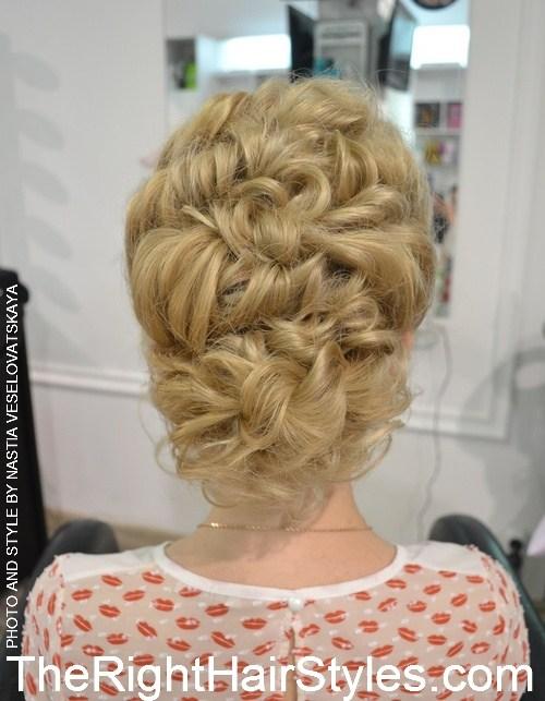 10 Сhic Updos für mittellanges Haar