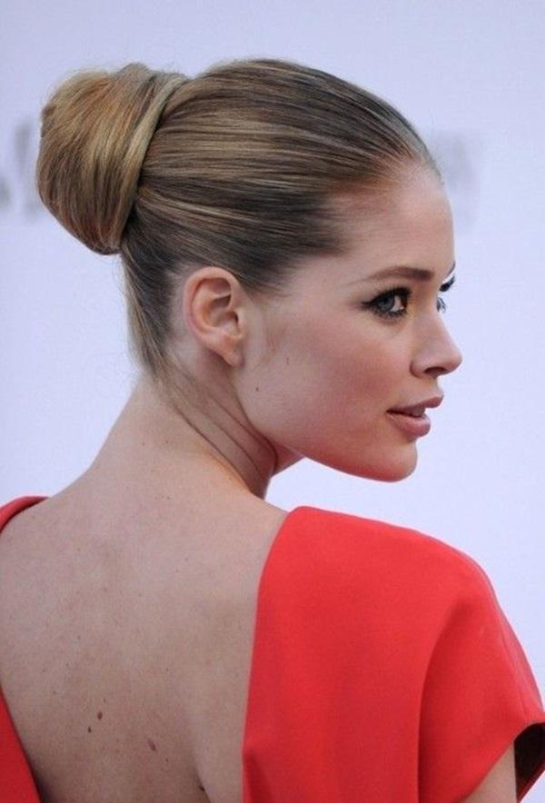 30 Brötchen Frisuren für Frauen, um wunderschön aussehen