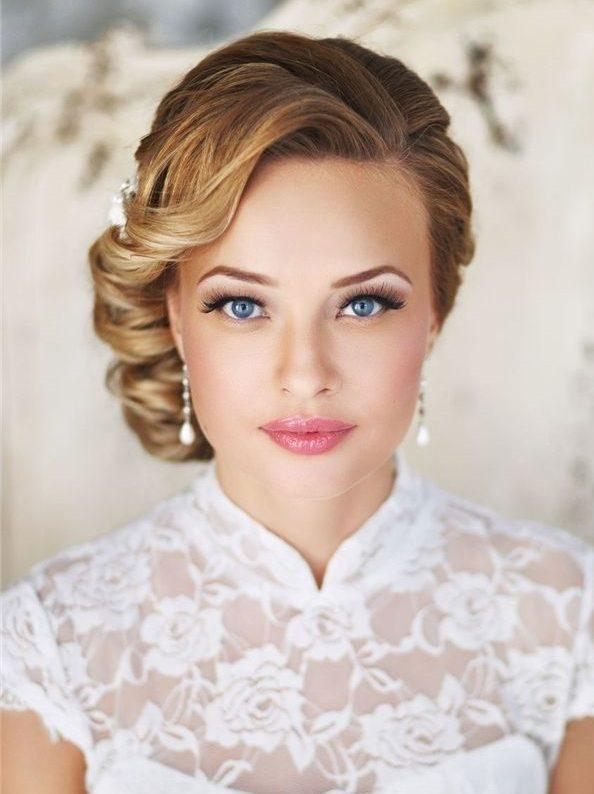 20 glückselige Hochzeit Frisuren für kurze Haare
