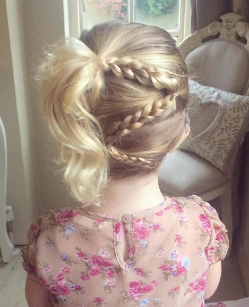 Zöpfe für Kinder - 40 Splendid Braid Styles für Mädchen