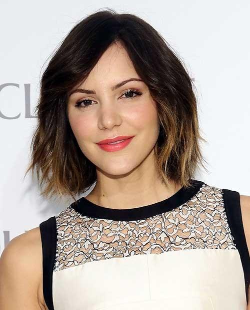 Neu Trendy kurze Haarschnitte in Ombre Haarfarben