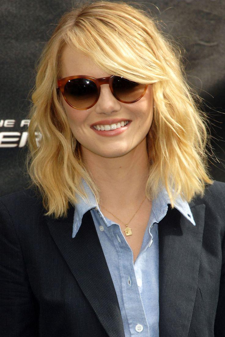 25 coolsten Frisuren für runde Gesichter