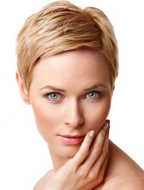 12 modische Pixie Cuts für runde Gesichter