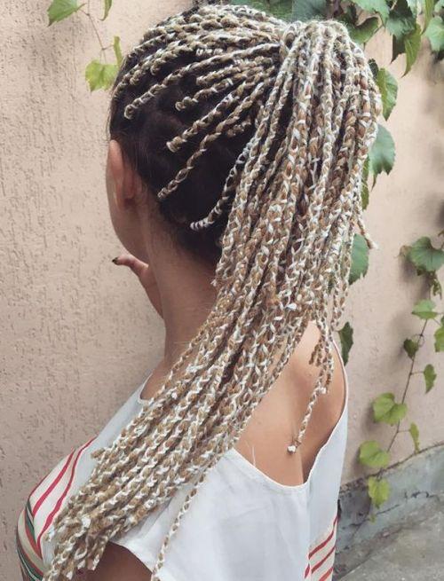 20 gemütliche Frisuren mit Garnzöpfen
