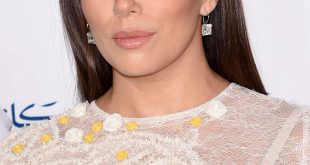 Eva Longoria: schlankes, mittellanges Party-Frisur-Tutorial