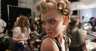 Wie man Bombshell-Haar wie Karlie Kloss erhält