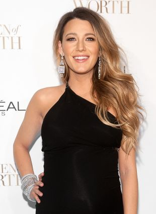 Blake Lively Hairspiration: wellig vs. straight