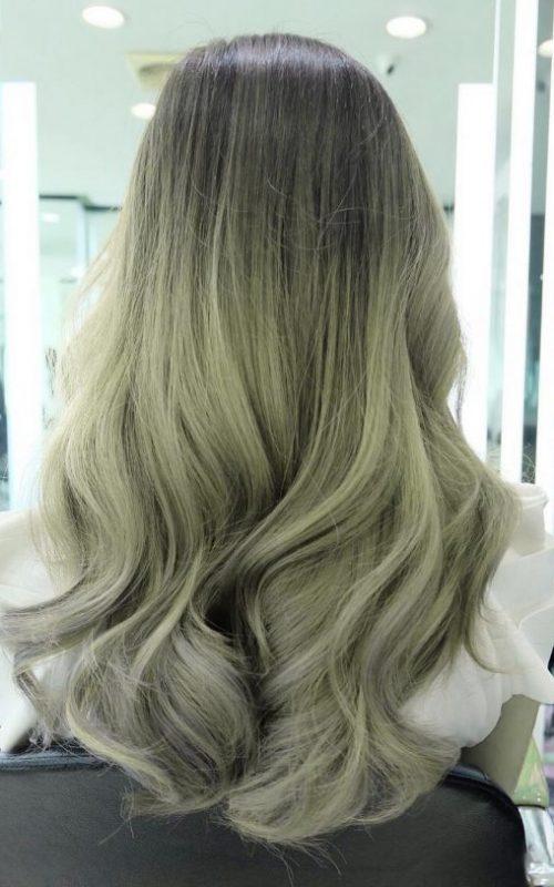 Zweifarbige Haarfarben für Beste Frisur
