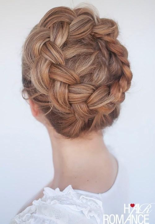 60 Breezy Crown Braid Frisuren für den Sommer