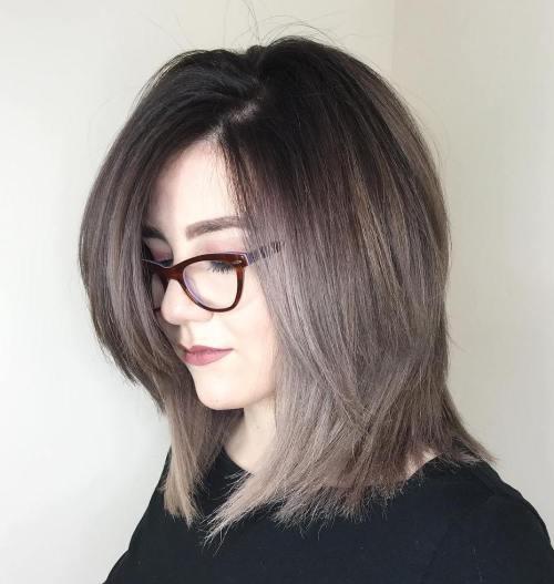 60 Spaß und schmeichelhafte mittlere Frisuren für Frauen