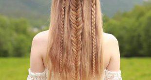 Boho Frisuren: 20 coolsten böhmischen Haar-Optionen