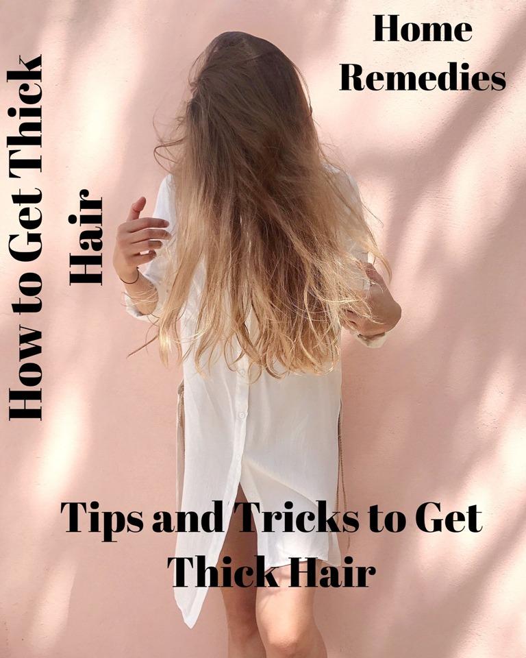 Wie man dickes Haar bekommt - Tipps und Tricks, um dickes Haar zu bekommen