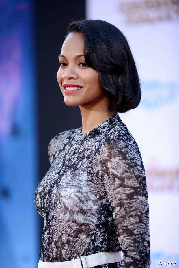 Top 3 Zoe Saldana Frisuren für mittellanges welliges Haar