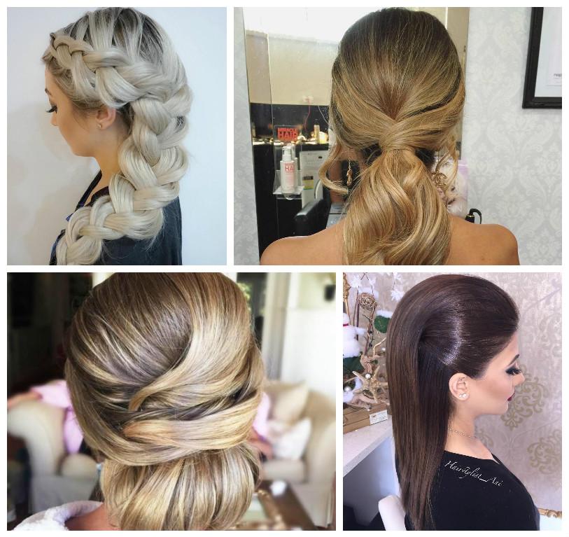 Frisur Ideen für glattes Haar