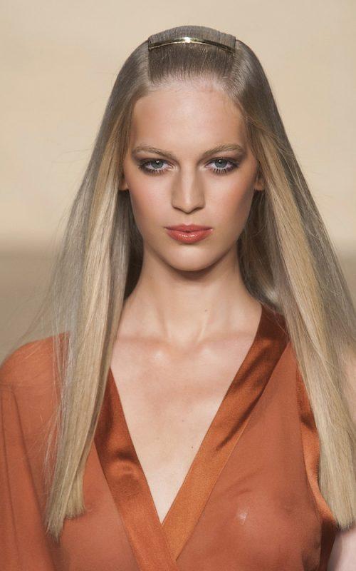 Neueste Runway inspirierte Frisuren