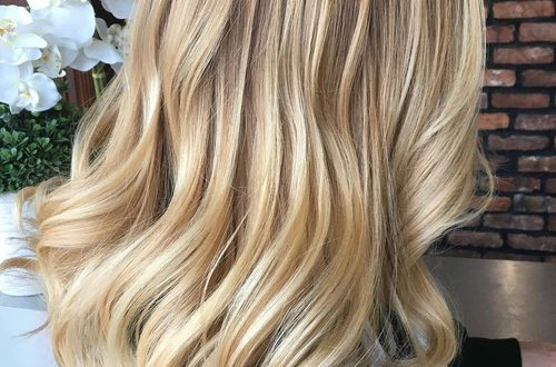50 blonde Haarfarbe Ideen für die aktuelle Saison
