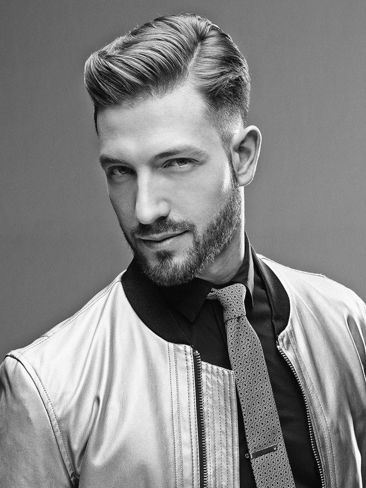 15 Seitenteil Frisur für Männer stilvoll erscheinen