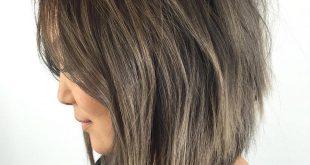 20 Inspirierende Long Layered Bob Frisuren