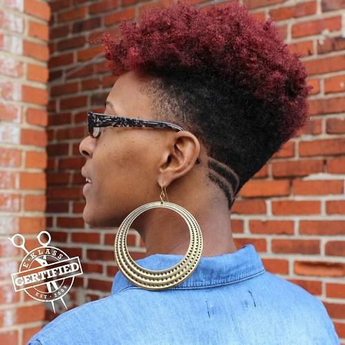 50 fesselnd Afroamerikaner Kurzhaarfrisuren