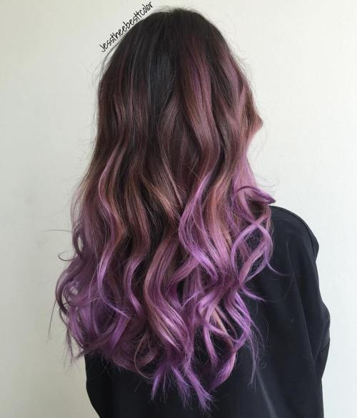 Die schönsten Pastell lila Haar Ideen