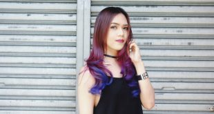 10 atemberaubende lila Balayage Styles für modische Frauen