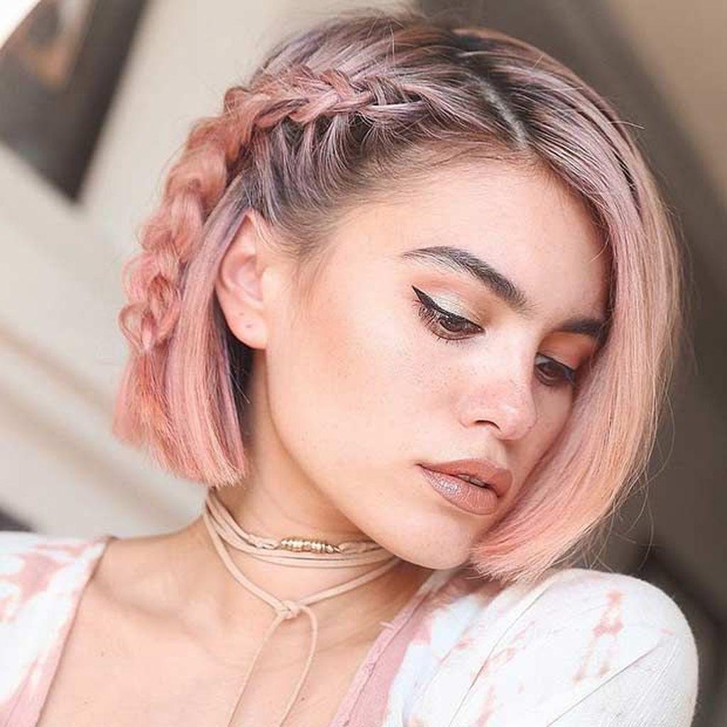25 beste Farben für kurze Haarschnitte - Lassen Sie Ihre Haarfarbe für Sie sprechen
