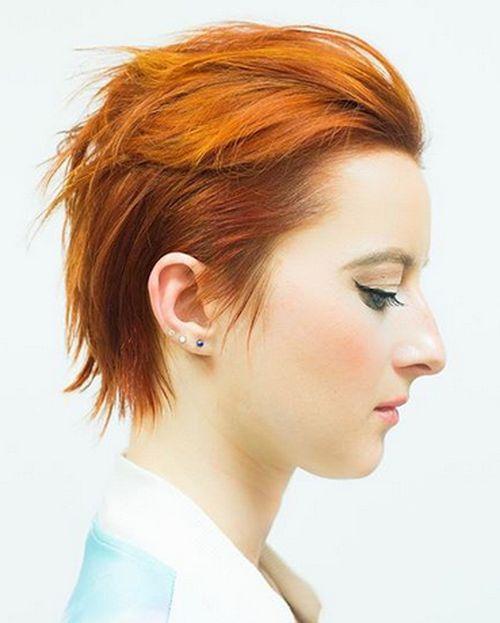 35 kurze Punk Frisuren, um Ihre Fantasie zu rocken