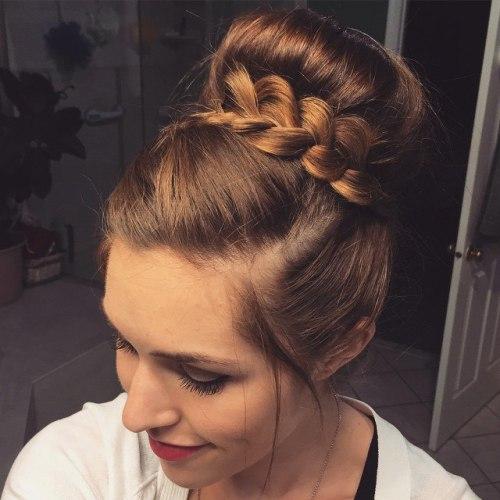 20 süße und einfache Party Frisuren für alle Haarlängen und Arten