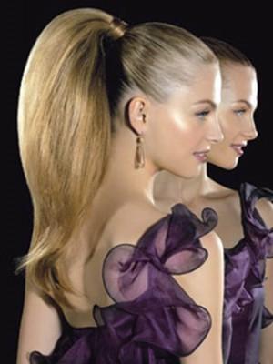 Glam Frisuren für dickes Haar