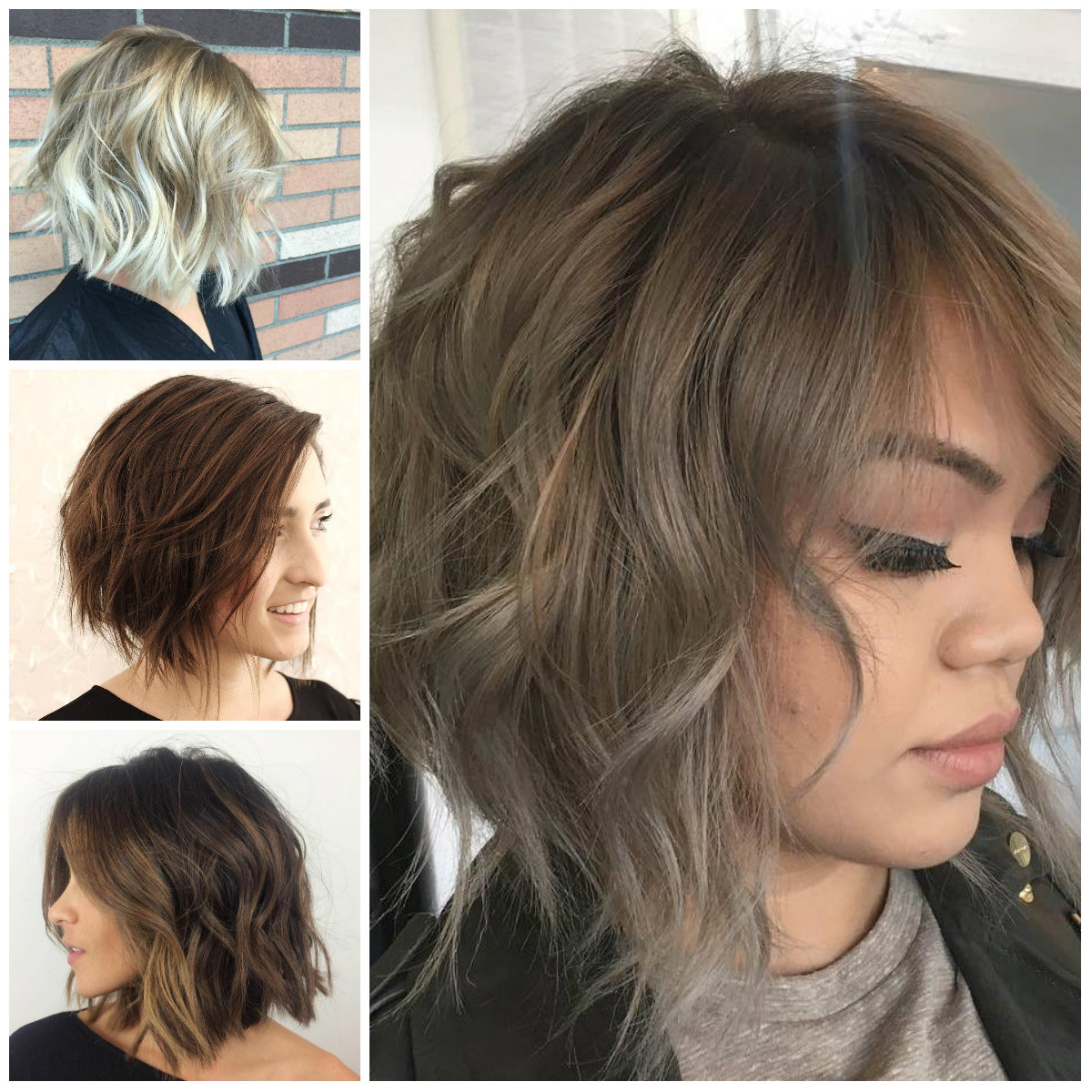 Casual Short Messy Hairstyles for Females