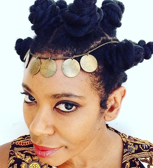 20 fabelhafte Möglichkeiten, Bantu Knoten zu stylen