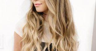 2017/2018 Frisuren für lange blonde Haare