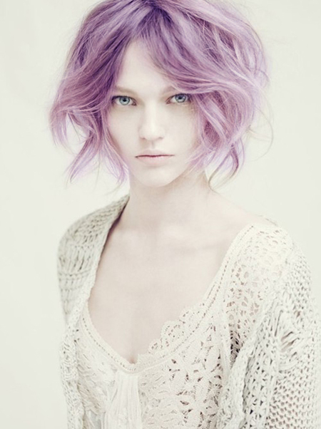 Neu Haarfarbe Ideen für kurze Haare
