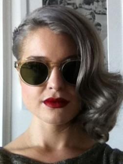 Celebrity Grey Frisuren