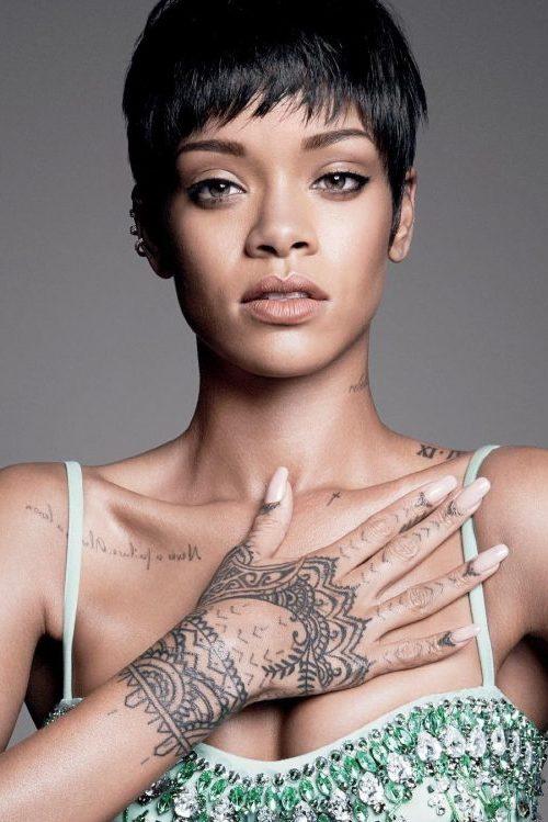 Rihanna inspiriert Frisur Ideen